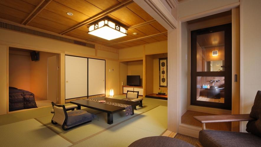 ◆八番館眺望風呂付和洋室(一例)