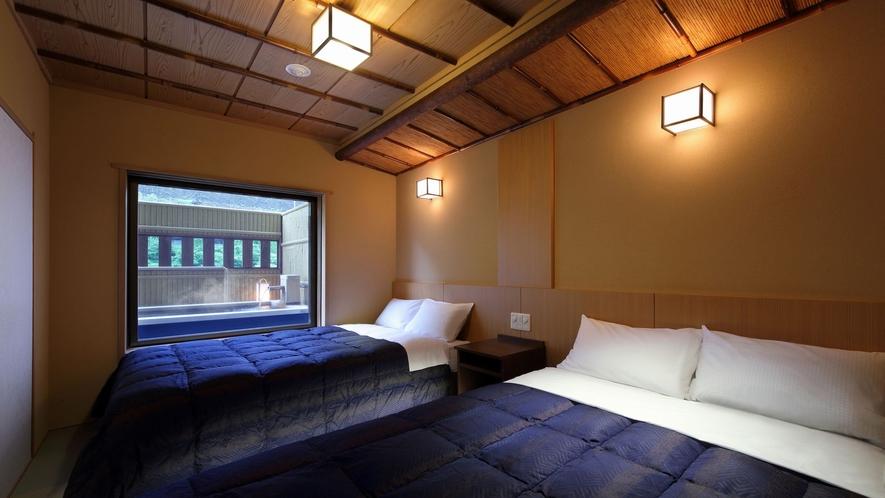 ◆八番館露天風呂付客室(一例)