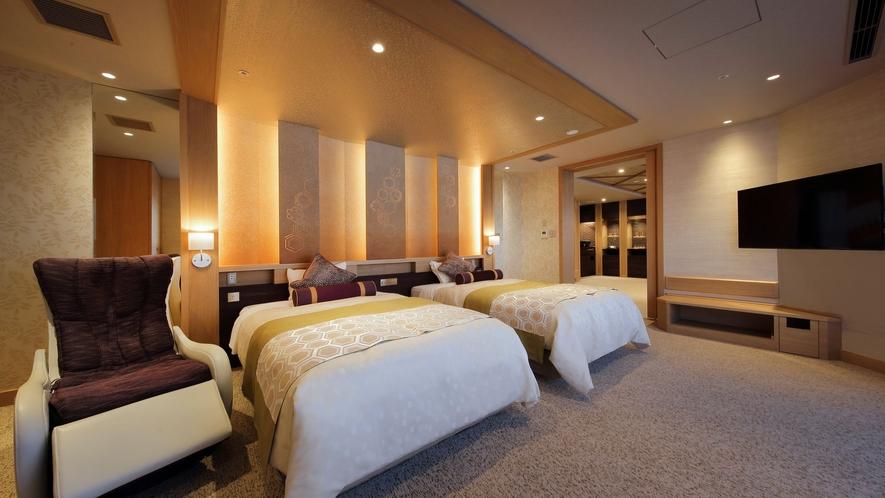 ◆秀峰館貴賓室ベッドルーム