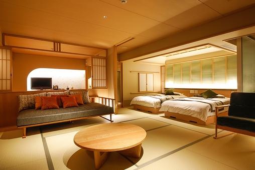 【新客室】温泉露天風呂付き特別室(部屋食)【禁煙】