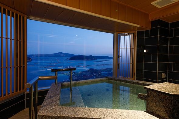 お部屋食【温泉露天風呂付特別室】令和元年12月グランドオープン