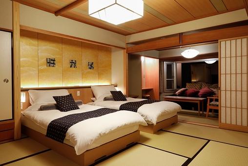 【リニューアル】9階温泉露天付特別室バリアフリー(部屋食)