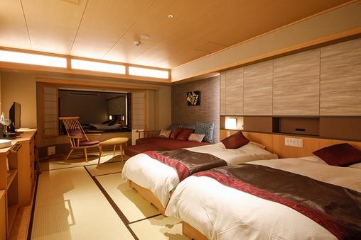 【リニューアル客室】和室D32平米(ダイニング食)【禁煙】