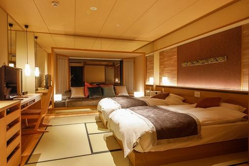 【リニューアル客室】和室32平米(お部屋食)【禁煙】