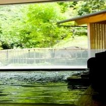 ■新緑の初夏の大浴場
