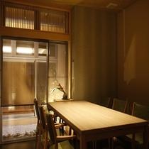 個室ダイニング テーブル500*500