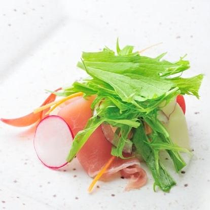 【彩り鮮やかなヘルシー野菜】