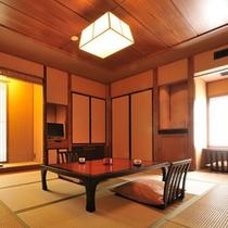 【本館 特別室 山吹】和室/和室10畳・ツインベッドルーム・半露天風呂