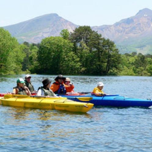 *【カヌー体験】大自然を感じるにはもってこいのアクティビティです☆