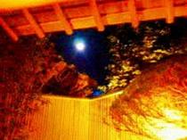露天で、お月見♪