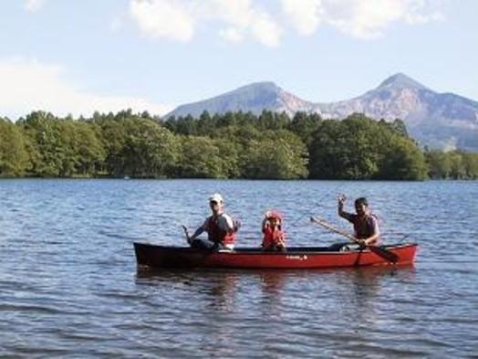 【素泊まり】釣りや写真家に人気の曽原湖畔・自由にゆっくりチェックイン食事無しプラン