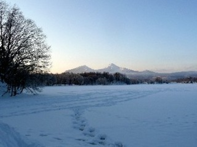冬・曽原湖