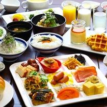 朝ごはんブッフェ