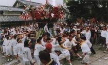 夏祭り(ふとん太鼓)