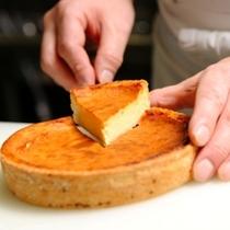 【チーズケーキ】まごころを込めて作っています