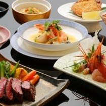 贅沢な食材をふんだんに使用した御料理をご堪能下さい