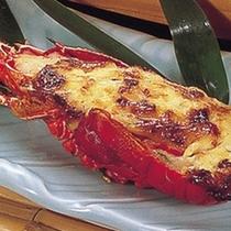 イセエビ焼き (※お料理は一例です)