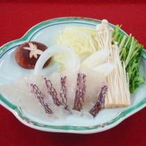 鯛しゃぶ (※お料理は一例です)