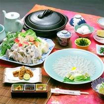ふぐ会席(冬季限定)※お料理は一例です