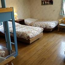 *[ファミリールーム]ワンちゃん同伴でも広々使える客室タイプ