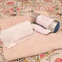 *[アメニティ]フェイスタオル・歯ブラシをご用意(バスタオルは貸出)