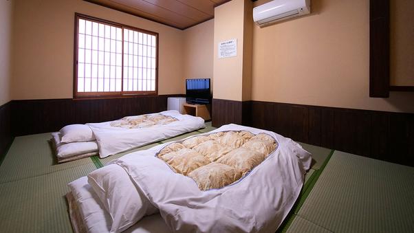 ◆【本館和陽館:和室6〜8畳】共用バストイレ【喫煙】