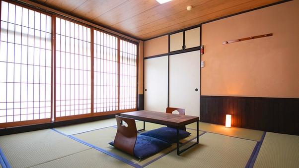 ◆【本館和陽館:和室12畳】共用バストイレ【喫煙】