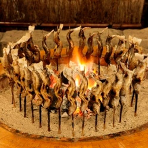 岩魚の炭火焼きイメージ