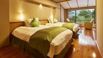 花見亭 特別室のベッドルーム