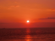 伊豆最西端の夕日