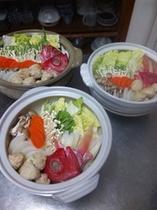 冬季の鍋料理