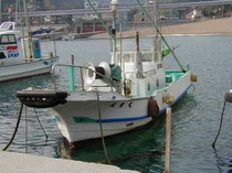 旧自家船の成雲丸(現在は、吉右衛門丸)