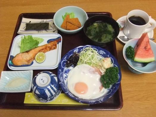 和定食、朝食付きプラン