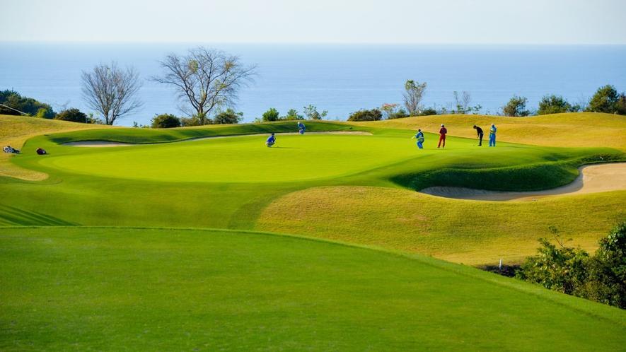 Kochi黒潮カントリークラブはホテルよりお車約10分カシオワールドオープン開催ゴルフ場