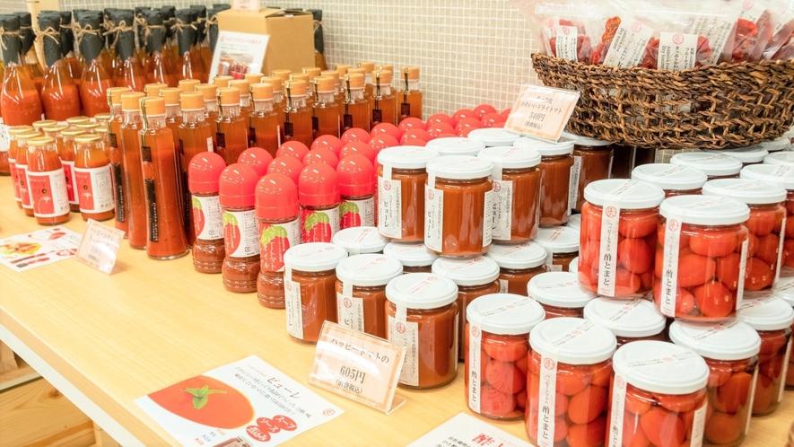 高知県産トマトを使ったドレッシングやピューレなど販売しております。
