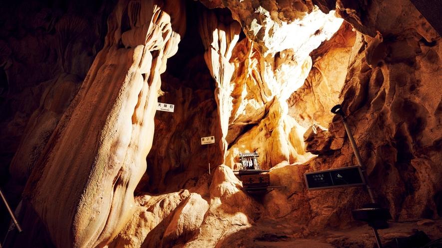 【龍河洞】ホテルよりお車約30分日本三大鍾乳洞のひとつ龍河洞ではアドベンチャー気分を味わえます。