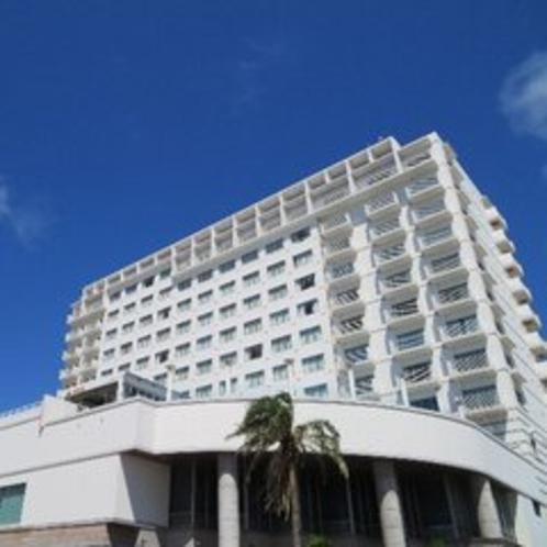 ホテル海側全景