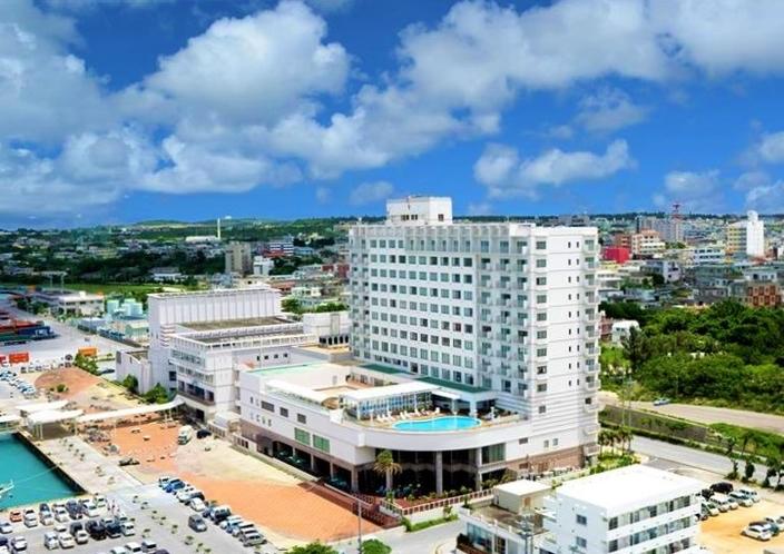 ホテルアトールエメラルド宮古島全景