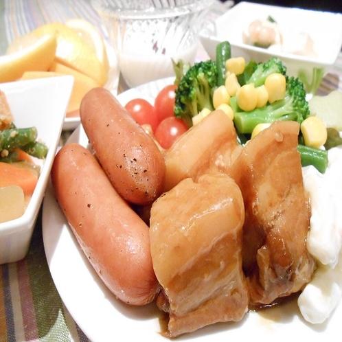 ( ^)o(^ )おなかいっぱい!!たべちゃいますよ~☆美味しい朝ごはん☆