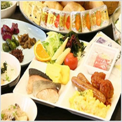■朝食:和洋バランスのとれた朝食で元気な一日を応援致します