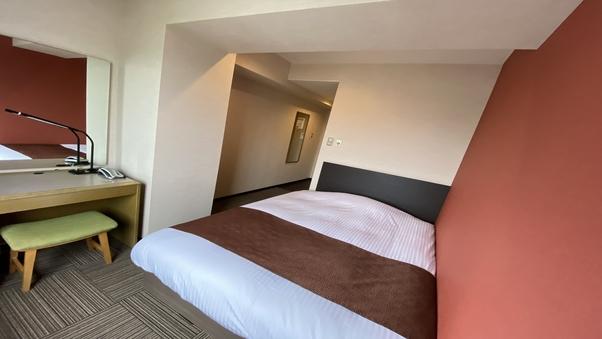【禁煙】シングルルーム (ベッド幅140cm)