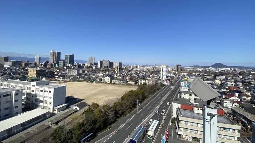 ■客室よりの風景【北側】近江富士・三上山が見えます■