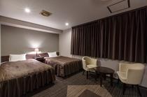 特別仕様のアッパークラスツインは、21㎡で他の部屋にはない空間と贅沢さ。