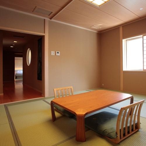 【最上級客室】展望風呂付特別客室の和室部分