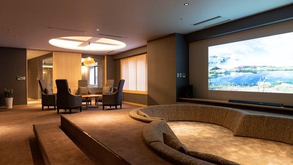 【禁煙】山側の温泉&寝湯付客室「連珠」(160平米)