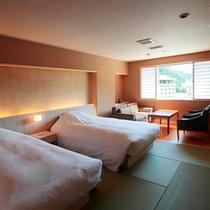 【最上級客室】展望風呂付特別客室 和洋室