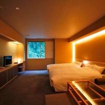 【檜内風呂付和風ベッドルーム45平米】