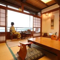 落ち着いた純和風のお部屋です。