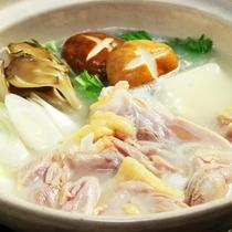 三河鶏の水炊き白仕立て