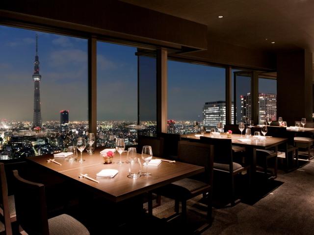 24階スカイツリービューレストラン『簾』